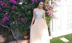 Jessy Ariaz - Prom modeling dress