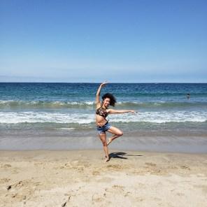 Jessy Ariaz - Passe Leg at the Beach