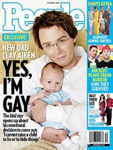 Clay Aiken is Gay!?