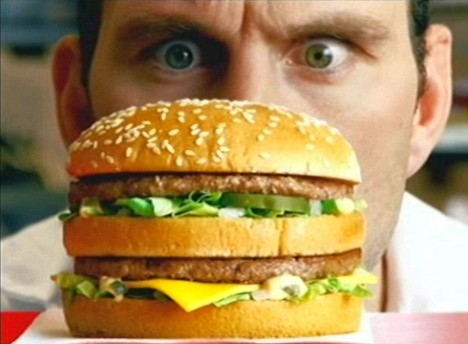 fast food kocham hamburgery