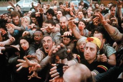 zombie na zakupach
