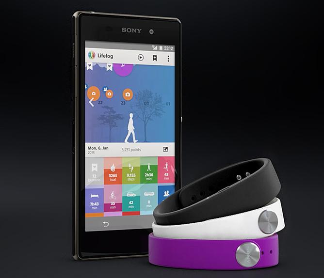 sony smart band polska life log android aplikacja