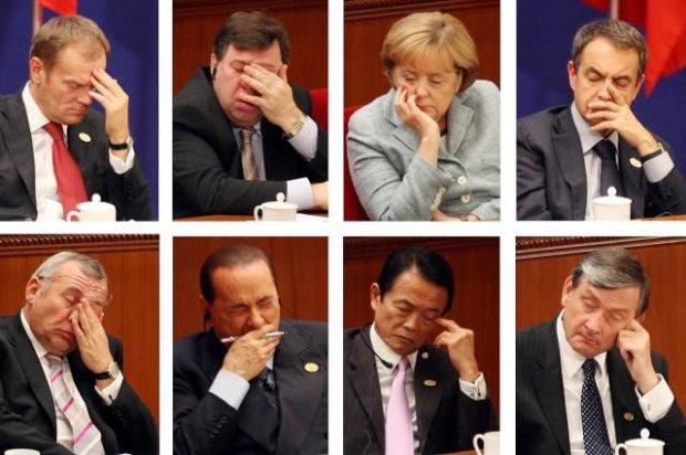 śpiący politycy drzemka w pracy jestesmyfajni