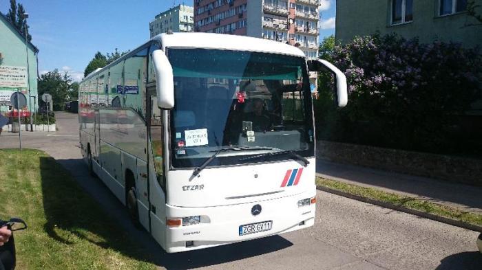 bieg transgraniczny gryfino gartz 39 autokar