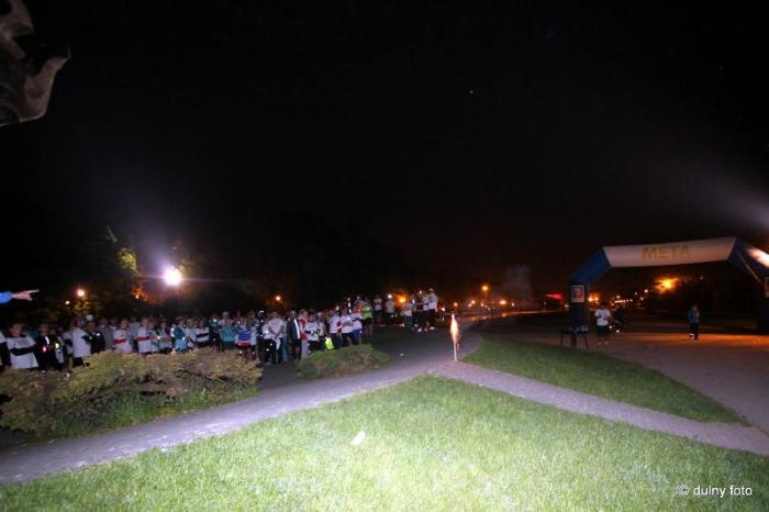 szczeciński bieg nocny pokaz fajerwerków pyromagic
