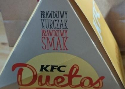KFC duetos opakowanie