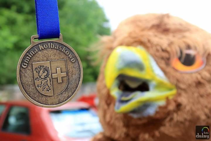 ćwierćmaraton bielika dulny foto medal