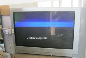 LG CRT TV with picture problem repaired Model: RT29FA34RB | Electronics Repair And Technology News