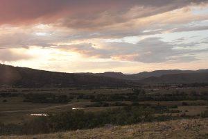 Sunset over Base Camp