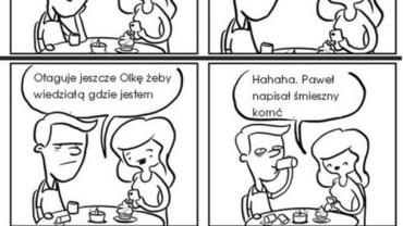 Obiad z dziewczyną na mieście…