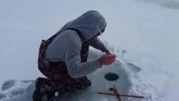 Nigdy nie przeszło ci przez myśl co można wyłowić spod lodu! Sam nie wierzyłem własnym oczom!