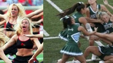 Śmieszne wpadki cheerleaderek. Dobra zabawa gwarantowana – zobacz koniecznie!