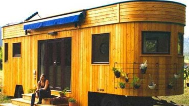 Ten wspaniały dom na kółkach jest samowystarczalny i w 100% ekologiczny