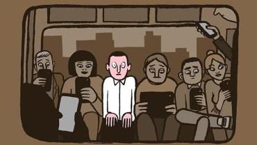 Francuski artysta świetnie pokazał, jak technologia kradnie nam życie