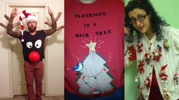Najgorsze świąteczne swetry na świecie!