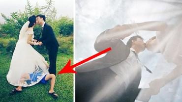 Piękne ślubne zdjęcia wymagają niemałego poświęcenia. Oto, co dzieje się za kulisami sesji fotograficznych