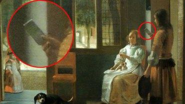 3 dowody na to, że podróże w czasie są możliwe. Odkryto iPhone na obrazie z 1630 roku.