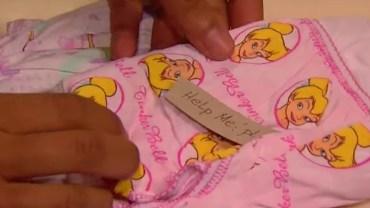 Kobieta otwarła paczkę z bielizną dla córki znalazła ukrytą wiadomość! Od razu postanowiła działać!