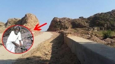 Gdy jego żona zmarła, wziął dłuto i zaczął drążyć dziurę w skale. Po 22 latach świat ujrzał jego projekt