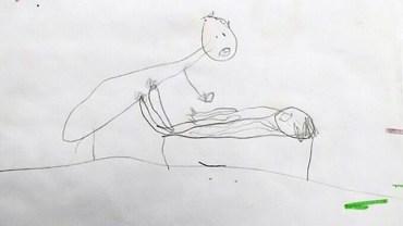 Gdy rodzice zobaczyli rysunki 5-letniej córki, byli załamani. Szybko się okazało, że dziecko zobrazowało prawdziwe wydarzenia