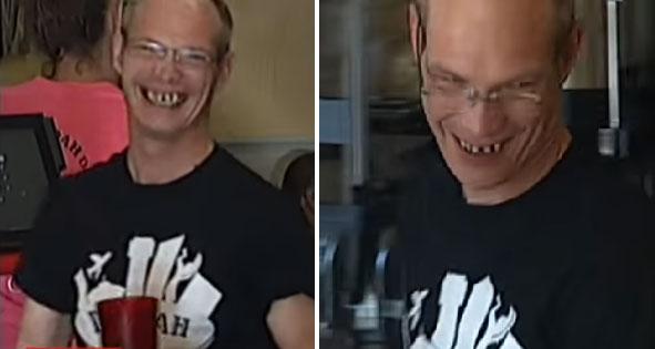 Klient urzeczony serdecznością kelnera podarował mu aż 25 000 dolarów, by ten mógł spełnić swoje marzenie o nowym uśmiechu