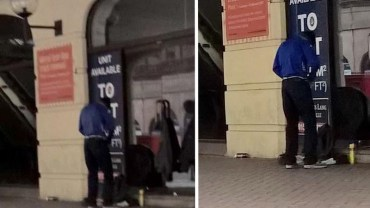 Zawód: żebrak. Ten mężczyzna nie ma chęci do pracy, woli wyciągać dłoń i udawać bezdomnego!