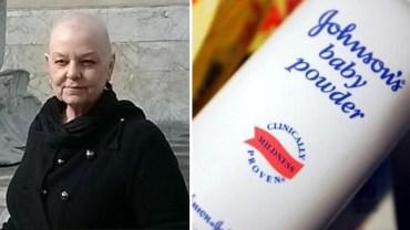 Kobieta z rakiem jajnika wywalczyła olbrzymie odszkodowanie od firmy Johnson & Johnson, kiedy odkryła w zasypce rakotwórcze substancje