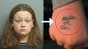 34-latka nie miała na kim poćwiczyć tatuowania, na warsztat wzięła więc swoich synków…