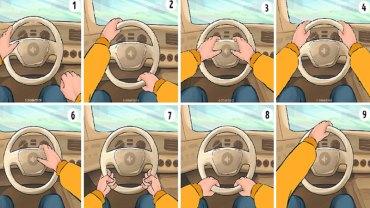 Sposób trzymania kierownicy w samochodzie nie jest przypadkowy i zależy od charakteru człowieka! Sprawdź, co mówi o Tobie
