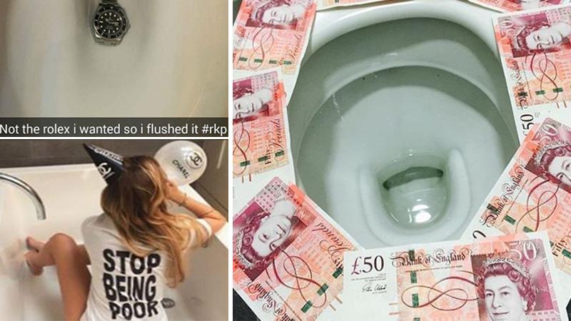 Kąpią się w szampanie, gotówką wycierają buty, a Rolexy spuszczają w toalecie - bogate nastolatki nie mają za grosz szacunku dla pracy! Ludzi, którzy muszą zarabiać na chleb nazywają wieśniakami