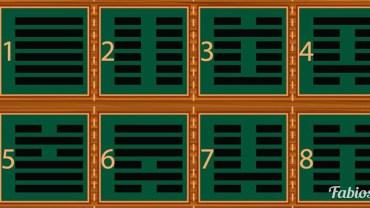 Heksagramy ze starożytnymi chińskimi mądrościami. Wybierz jeden i dowiedz się czegoś interesującego o sobie!