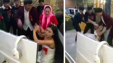 Grała w grę komputerową i zapomniała, że miała wyjść za mąż. Siłą zadarto ją przed ołtarz!