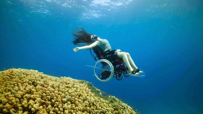 Sue odczarowała wózek inwalidzki. Udowodniła, jak bardzo się mylimy, traktując go, jako ograniczenie