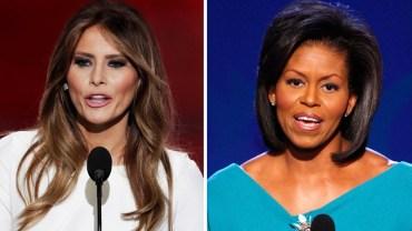 IQ Melanii vs IQ Michelle jest dość niepokojące podobnie jak ich mężów! Zdziwieni?