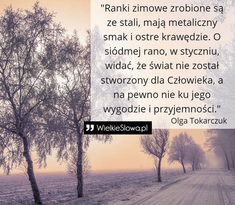 Najpiękniejsze cytaty Olgi Tokarczuk! Te słowa utkną w twojej pamięci na długo