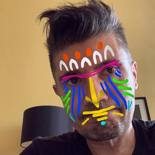 L'effet masque dans Procreate 5X