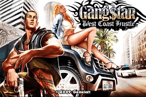 L'écran d'accueil du jeu