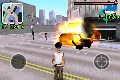 Les véhicules explosent à mon passage. Hé oui, je suis comme ça !