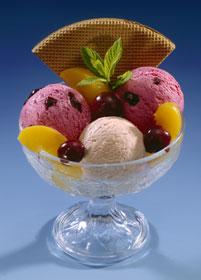 coupe de glace - Menu pour un dîner romantique : à vos tabliers Messieurs !