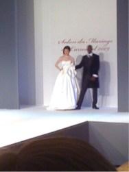Les mariés du défilé 2009