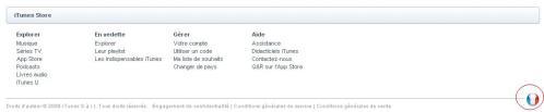 AppStore - Changer de langue