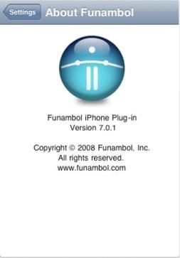 Copyright Funambol