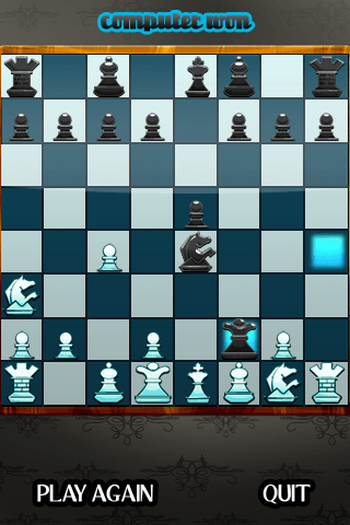 IMG 0151 - Chess Knight : le jeu d'échecs façon iPhone