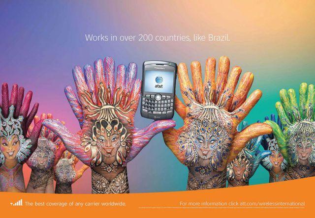 ATT Brésil - AT&T et la communication visuelle par les mains