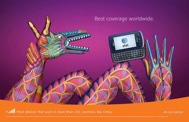 ATT Chine2 - AT&T et la communication visuelle par les mains