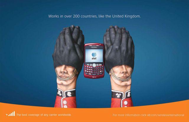 ATT Royaume Uni - AT&T et la communication visuelle par les mains