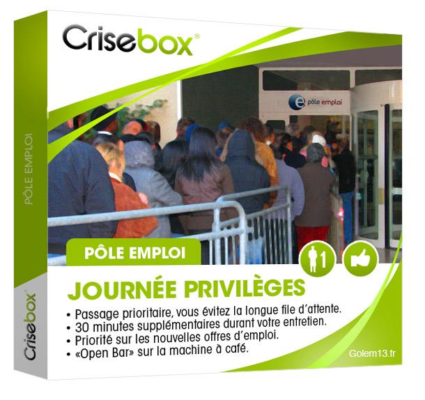Crisebox Pôle Emploi