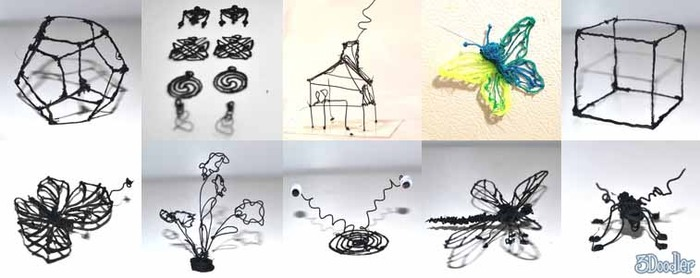 3Doodler5 - 3Doodler : le stylo pour dessiner en trois dimensions