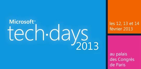techdayss - Vidéo TechDays Microsoft : Solutions Email Marketing et Mobilité dans Dynamics CRM