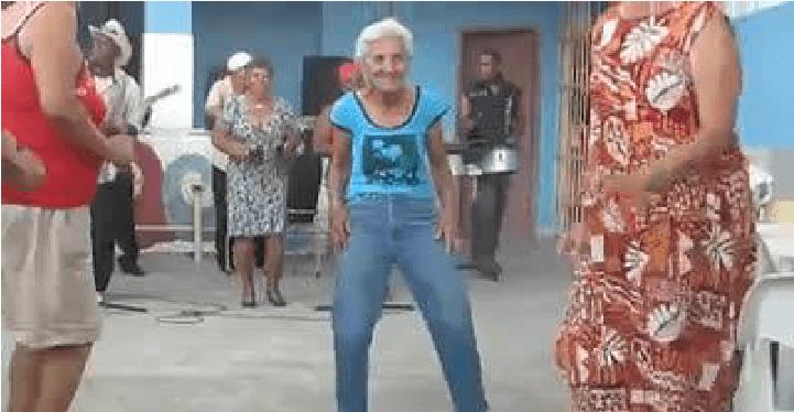 el baile de la abuela - El baile de la abuela !